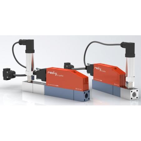 Digitálny regulátor tlaku s integrovaným meraním prietoku