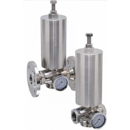 Piestový redukčný ventil DK