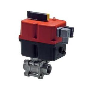 Guľové ventily s elektrickým pohonom