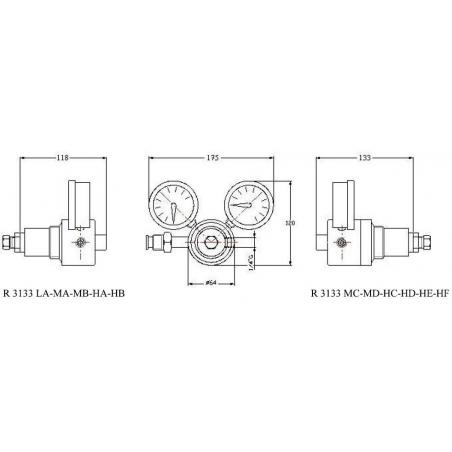 Redukčný ventil R3133