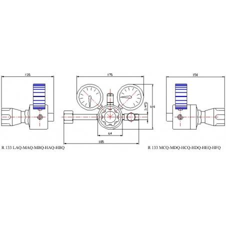 Redukčný ventil R133 Q