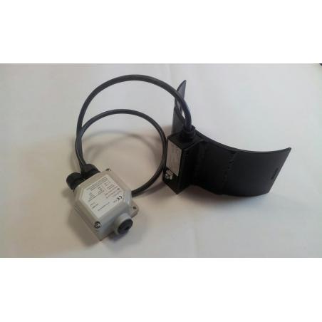 Ohrev na tlakovú fľašu s kalibračným plynom
