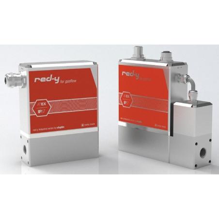 Hmotnostné prietokomery a regulátory prietoku red-y Industrial