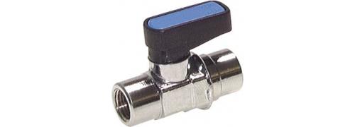 Miniatúrne guľové ventily