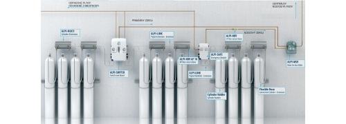 Zariadenia pre rozvody medicinálnych plynov