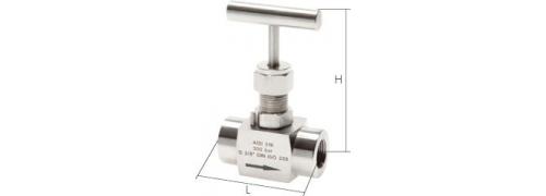 Nerezové uzatváracie ventily, ECO, PN300