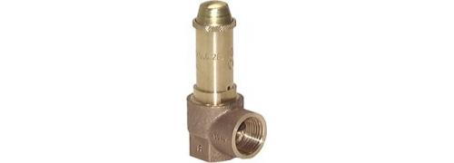 TÜV poistné ventily pre nasýtenú paru, DN10-25 (0,2-3 bar)