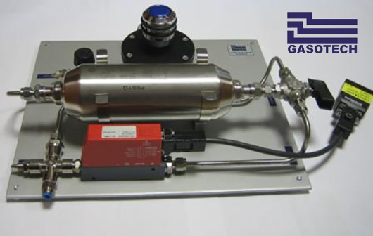 zariadenie na skúšanie tesnosti tlakových a plynových zariadení