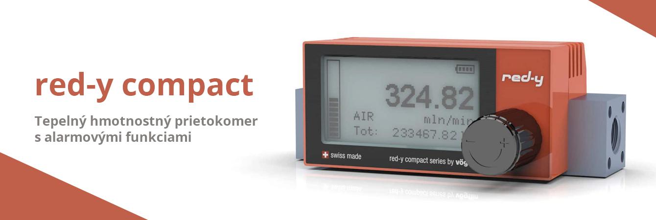Red-y Compact - Tepelný hmotnostný prietokomer