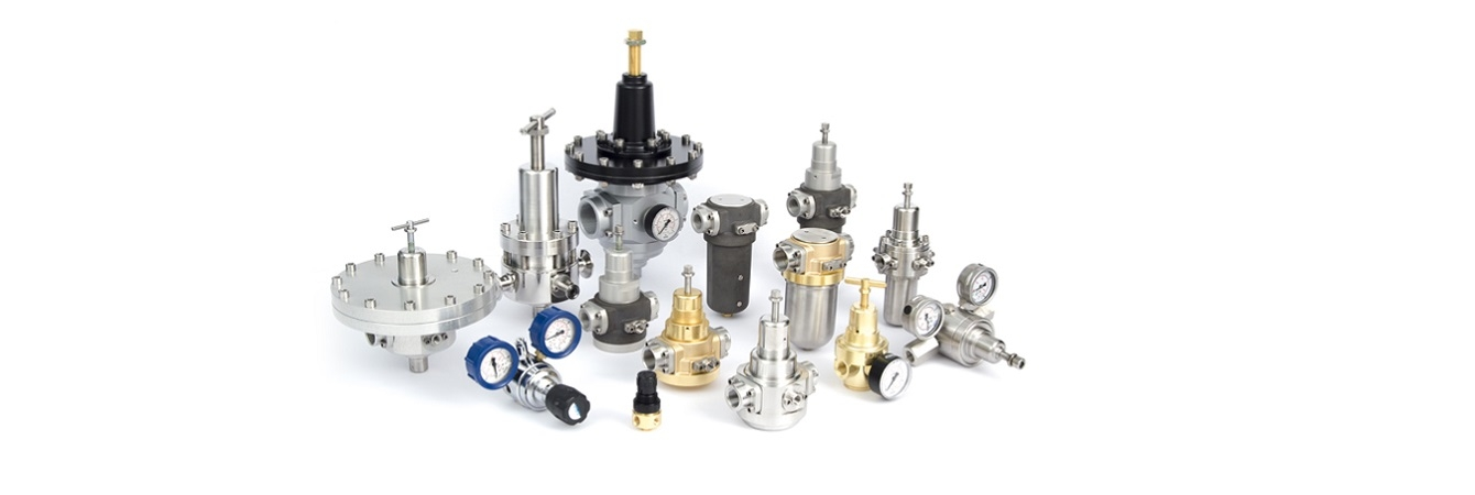 Redukčné ventily pre priemyselnú a potravinársku výrobu