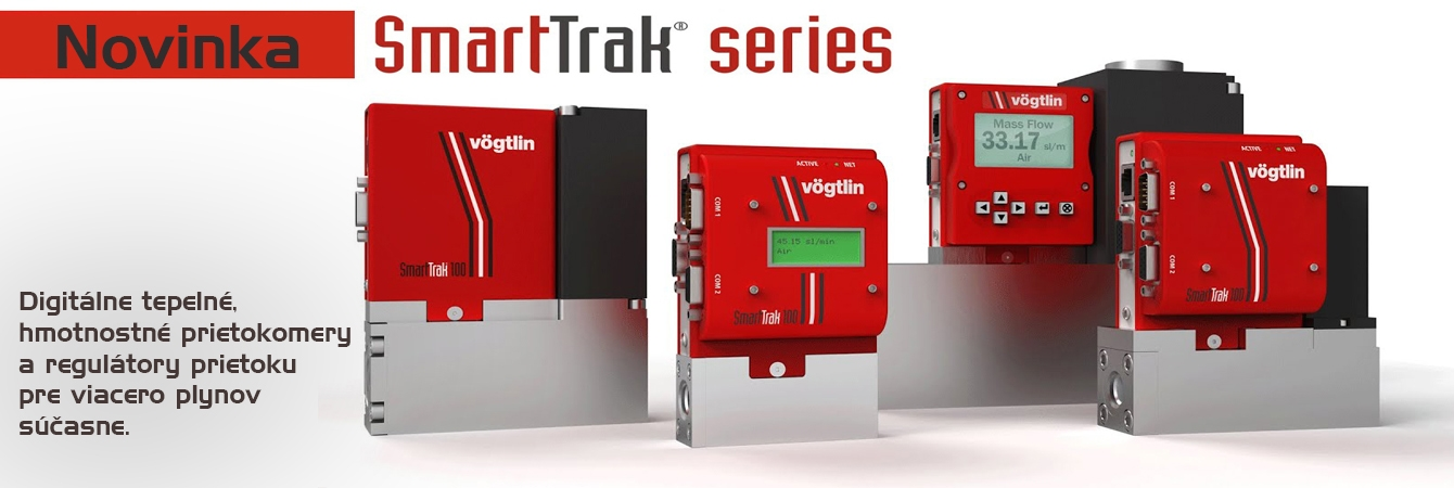 Smart Track -kapilárne prietokomery a regulátory prietoku